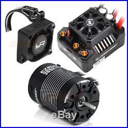 Hobbywing EZRUN MAX10 SCT 120A Waterproof ESC 4000KV Motor Fan & Mount #CB1195