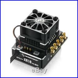 Hobbywing XERUN XR10 PRO ESC + V10 G3 Brushless Motor Combo 5.5T Black 1/10