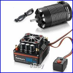 Hobbywing XERUN XR8 Plus 1/8 ESC 2S-6S & G2 4268SD 2600KV Sensored Motor Combo
