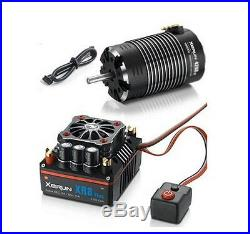 Hobbywing XERUN XR8 Plus 1/8 ESC 2S-6S / G2 4268SD 2600KV Sensored Motor Combo