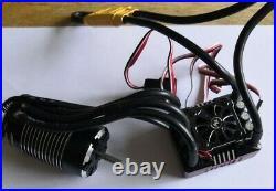 Hobbywing XR8 Plus ESC Combo With 4268b-1900Kv Motor (HW38020405) used, mint