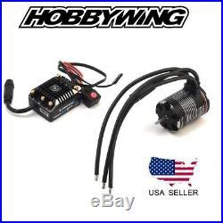 Hobbywing XeRun Axe ESC System 1200kV Brushless Motor RC Rock Crawlers