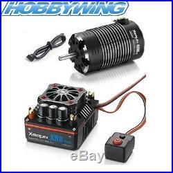 Hobbywing Xerun XR8 1/8 ESC with G2 4268SD 1900KV 4 Pole Motor Combo (2S-6S)