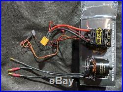 Holmes Hobby Devolver 1800 Motor, Castle Sidewinder 4 Package