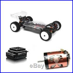 Hot Bodies Racing D418 1/10 4wd Buggy Combo R10 Stock Speed Control &13.5T Motor
