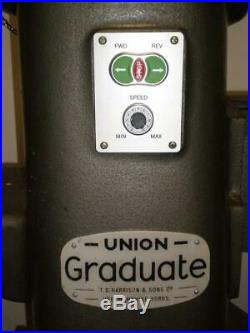 Inverter Speed Control For Union Graduate Lathe, Use Your Own 3ph 200/400 Motor