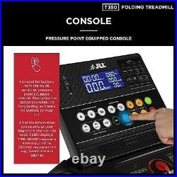 JLL T350 Digital Folding Treadmill, 2020 New Generation Digital Control