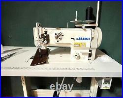 Juki Dnu1541 Walking Foot Industrial Sewing Machine Variable Speed Control Motor