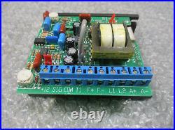 KB KBIC-125 DC Motor Speed Control Model 9433B Input115VAC 0-90VDC Tested