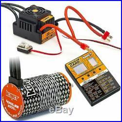 Konect COMBO 1/8 BRUSHLESS 100A / WP Regler + Motor 4274 / 2200KV + Programmier