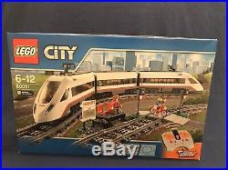 LEGO 60051 City HIGH-SPEED PASSENGER TRAIN motorized locomotive remote control
