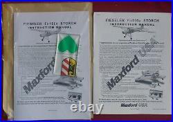 Maxford Fieseler Storch ARF R/C Airplane w Motor, Detail Upgrade & Speed Control