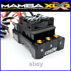 NEW Castle Creations Mamba XLX2 8S ESC 20A Peak BEC with2028-1100KV Motor COMBO