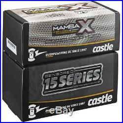 NEW Castle Mamba X 25.2V WP ESC/1515-2200kV Motor Combo FREE US SHIP