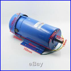 New 220V 1200W 1800RPM Permanent Magnet DC Motor Variable Speed Control Motor