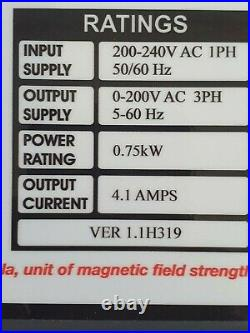 New design! Lathe speed controller AV750 and 1HP motor for Myford Super 7