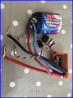 Novak Cyclone Brushed Speedcontroller & Orion Motor