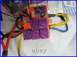Novak Hv Brushless Esc & 7.5 T Sensored Motor W 3 Cell Smart Stop, clod