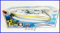 RC Speed Boat Atlantic Yacht Twin Motor Racing Boat Radio Control Malibu Ship