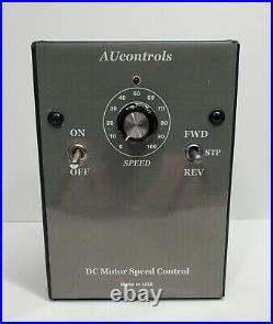REVERSIBLE DC Industrial Motor Speed Controller. 1/2 3 HP, 180 VDC, 15 Amps