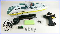 Radio Remote Control Malibu Racing Speed Boat Yacht High Speed 130 Motor 1/25