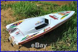 Remote Radio Control Speed Boat RC Twin Motor & Propeller 100 Metre Range 20+Kmh