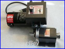 Sherline 3307 Headstock, DC Motor, and Speed Control Assembly (10,000 RPM)