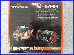 Spektrum RC Firma Crawler Sensored Brushless Smart ESC & Motor Combo 2100kv New