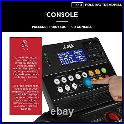 T350 Digital Folding Treadmill 2020, Digital Control 4.5HP Motor