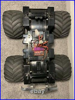 TAMIYA SUPER CLODBUSTER RC 4 Wheel Steering Dual Motor EVX Speed Control