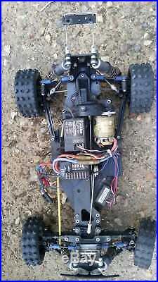 Tamiya Egress RC Buggy Original 58079 Vintage 1989 +speed controller and motor