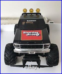Tamiya Vintage Blackfoot 1986 With Original Speed Controler And Motor