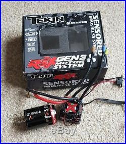 Tekin RSX Sensored Brushless ESC with Gen3 Motor 6.5T Combo Set Plus Bluetooth Pro