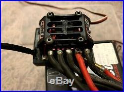 Tekin Rx8 ESC and Tekin Pro4 4600kv brushless motor with Tekin HotWire USB