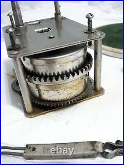 Thorens Gramophone Complete Motor Set with brake, speed control, crank, platter