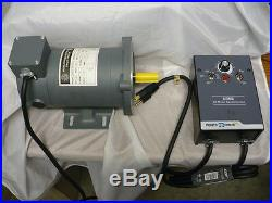 Tool Electric Lathe Motor With DC Speed Controller Litton Herbert Arnold