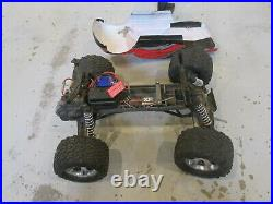 Traxxas Stampede 2wd XL-5 Speed Control Titan 12t motor Used TQ Remote