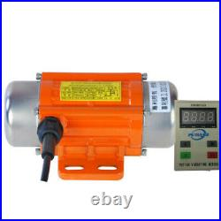 Vibrating Vibration Motor DC Brushless With Variable Speed Controller Display IP65