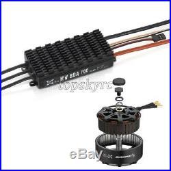 XRotor 8 FOC Power System 8120 100KV Motor + HV 80A FOC V3 ESC + Propeller tops